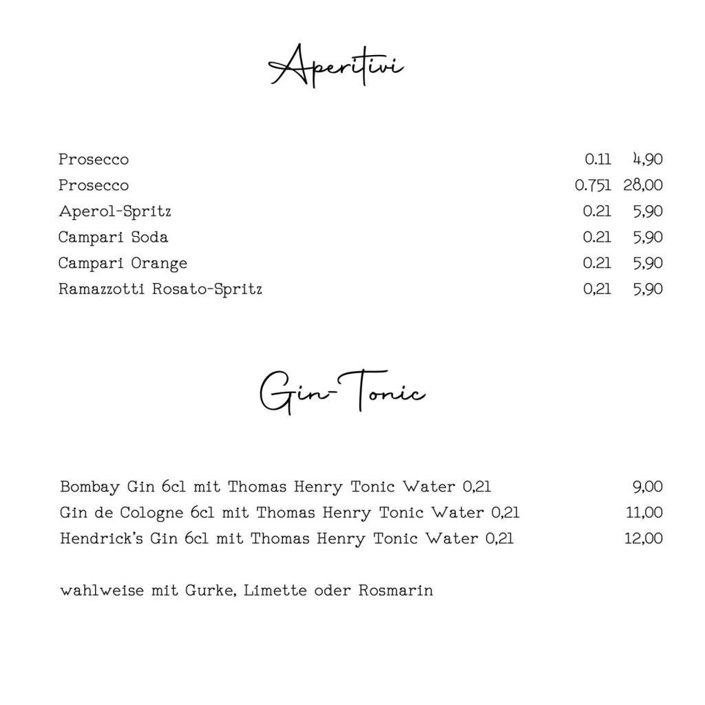 Aperitif - Aperol Spritz